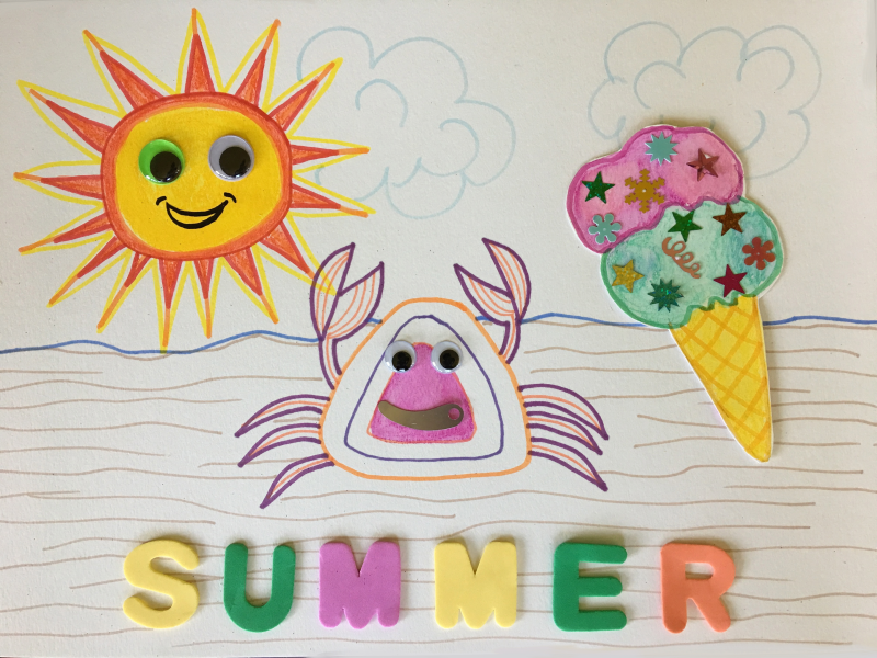 Summer Art and Craft 6