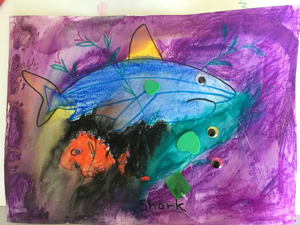 Shark Art and Craft Project