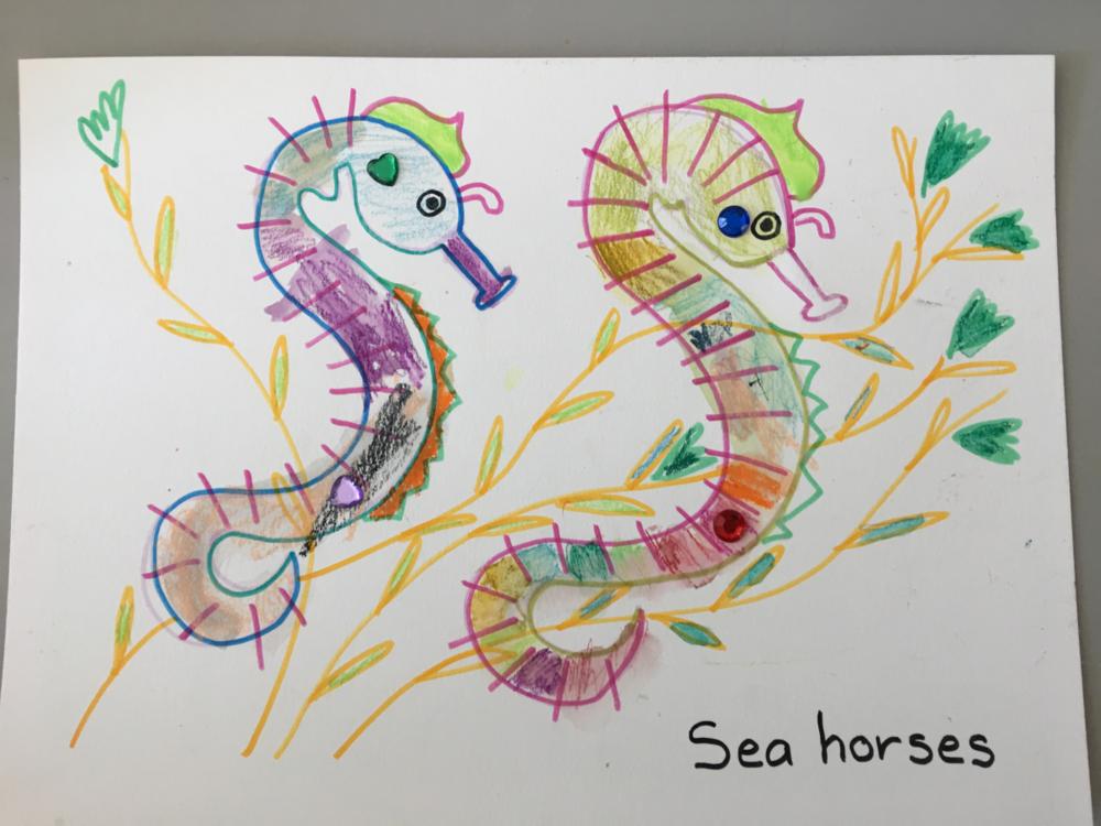 Copy of Sea Horses Craft