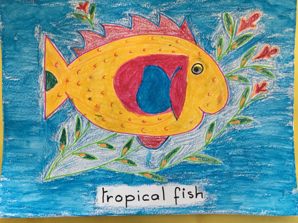 Copy of Copy of Yellow Tropical Fish