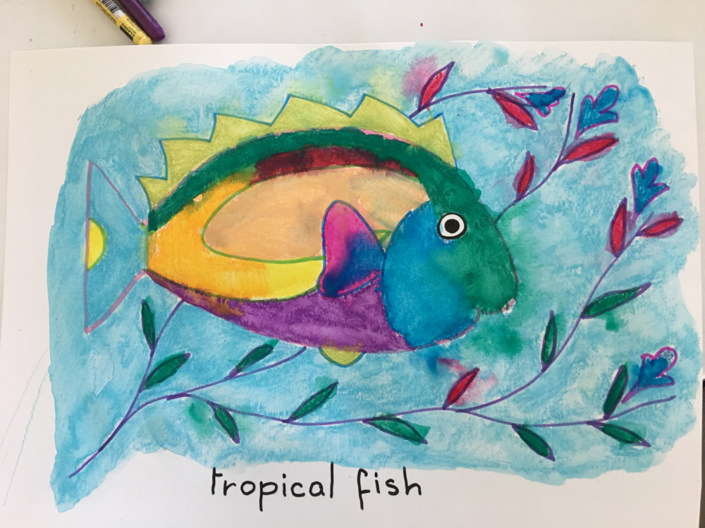 Copy of Copy of Colorful Tropical Fish