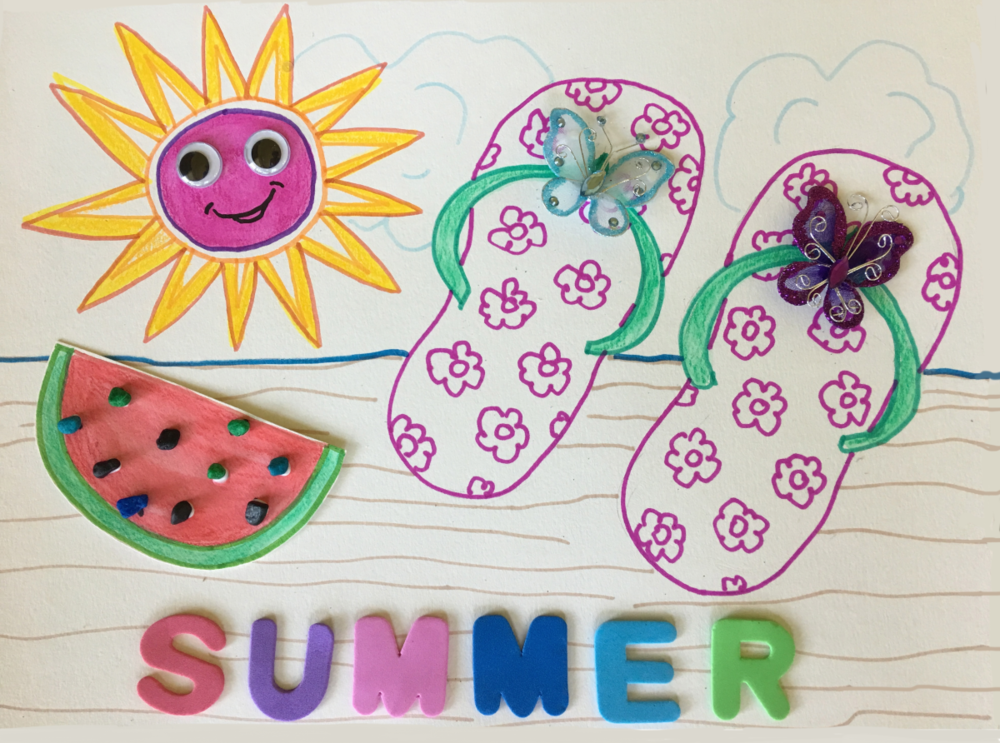 Summer Art & Craft Project at North Beach Public Library is June 20th!