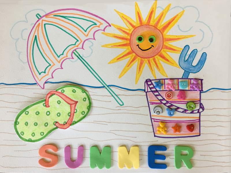 My Summer Art and Craft Event at North Beach Public Library is June 20!