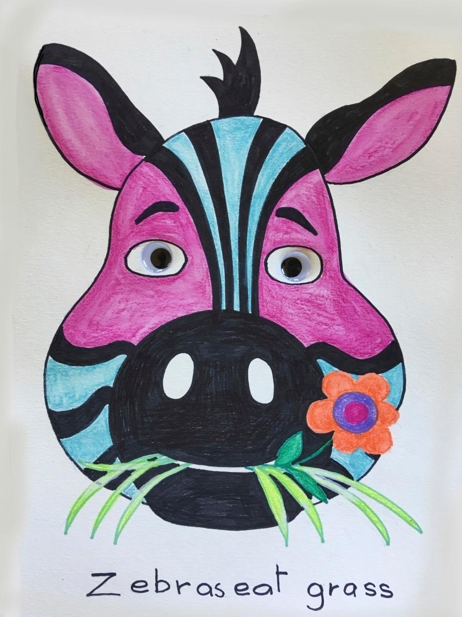 Zebra-animal-face