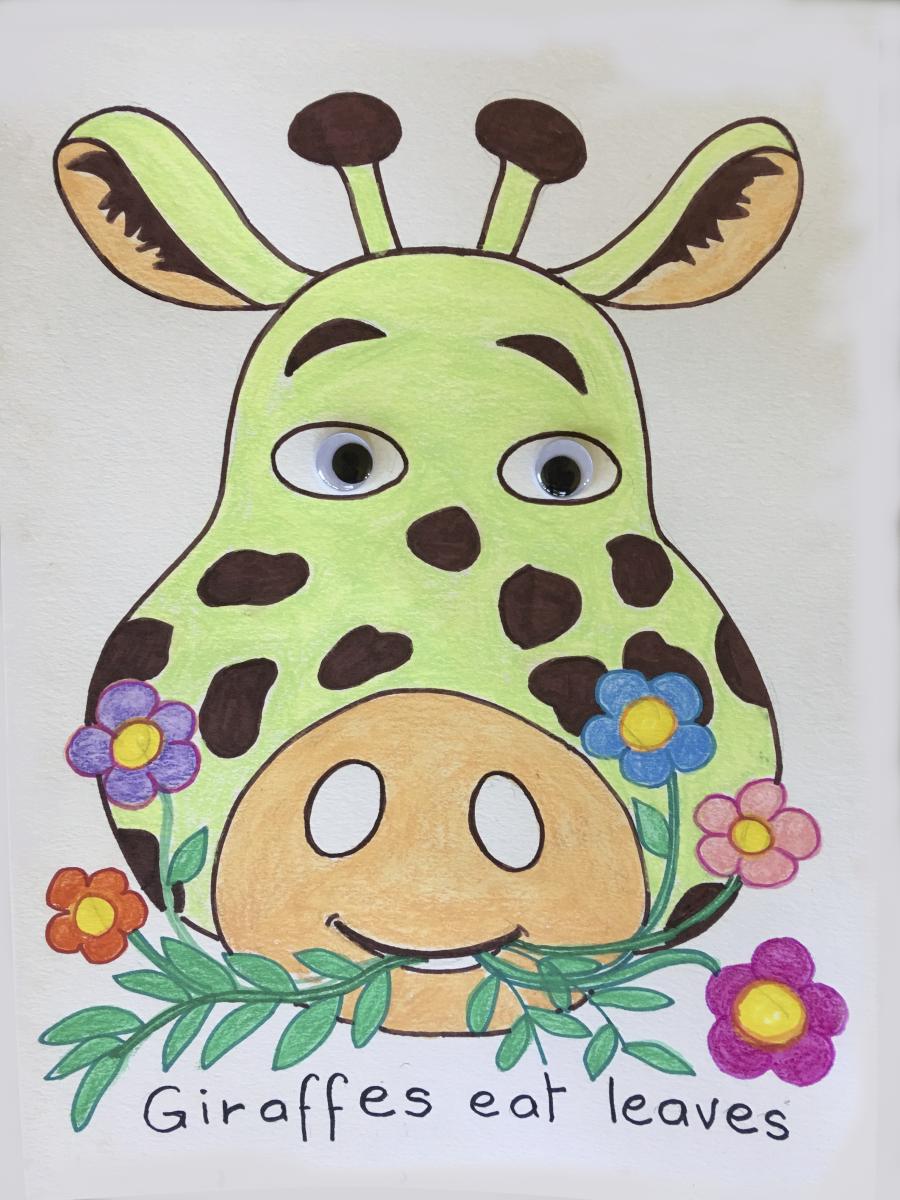 Giraffe-animal-face