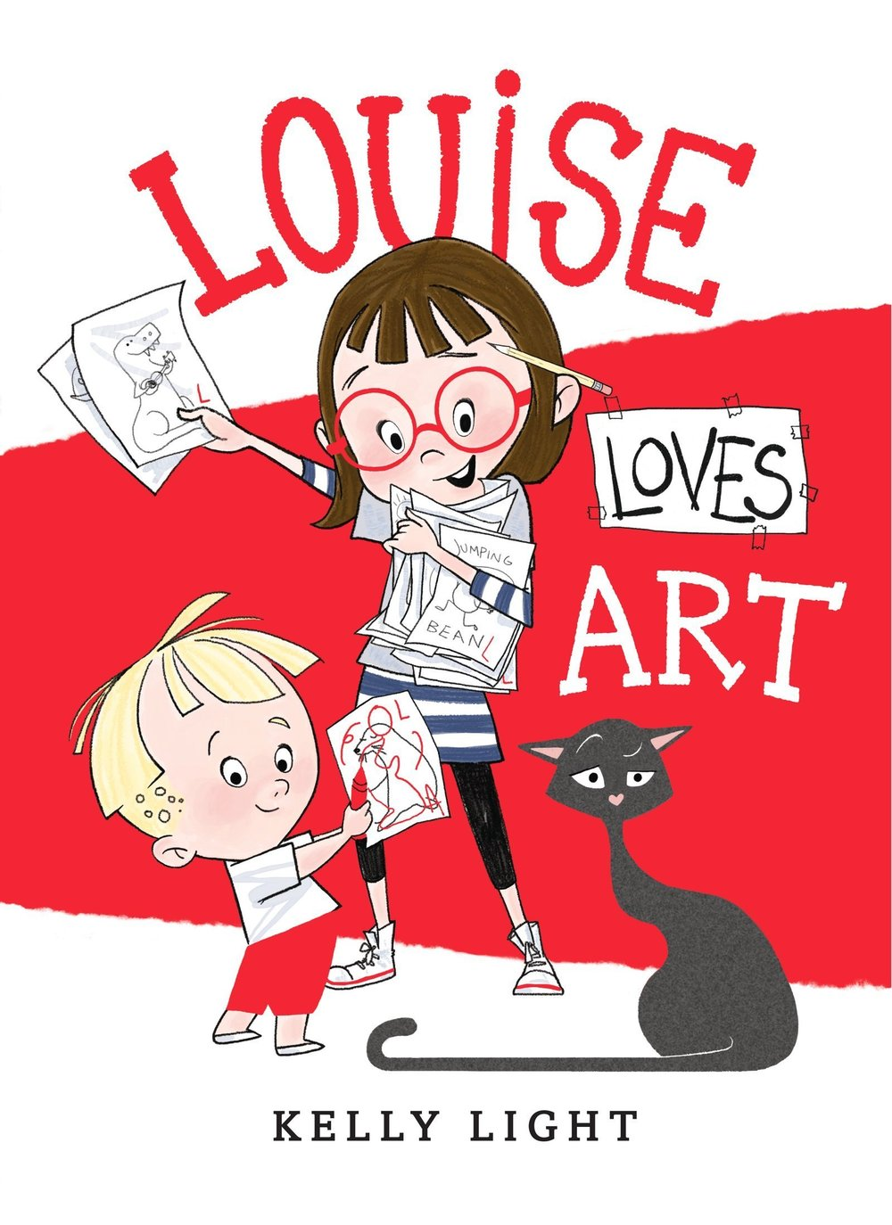 LOUISE LOVES ART, by Kelly Light
