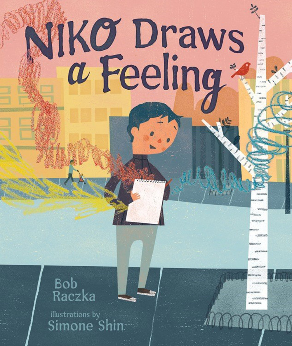 Niko Draws a Feeling, by Bob Raczka and Simone Shin