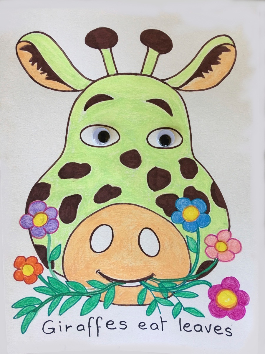 Animal Faces Art & Craft Project is Today at 4pm, North Beach Public Library!