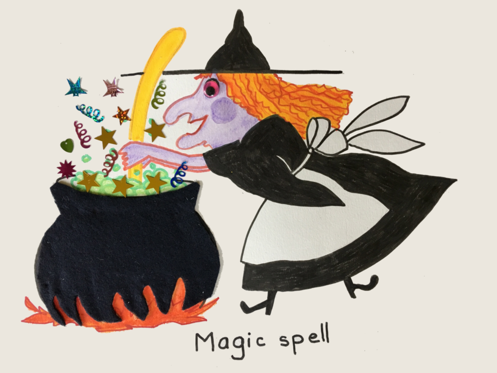 Witch Magic Spell Halloween