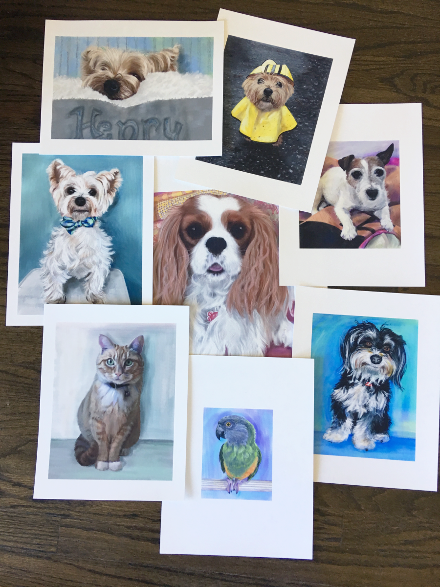Come bid at the Wag Hotels silent auction to get a pet portrait session with me!