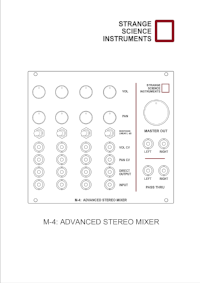 M4: Advanced Stereo Mixer - User Guide (PDF)