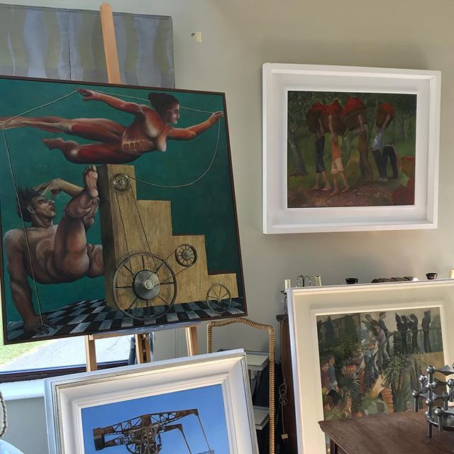 Stunning new Work at The Gallery Dalkey. Contact siobhan@thegallerydalkey.com / 0868116005