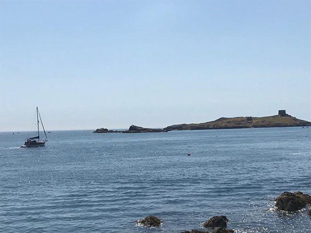 Beautiful Day again off Dalkey Island.
