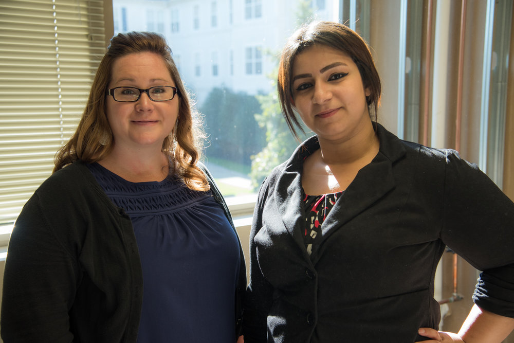 Jill brings extensive healthcare experience to her new role as practice manager.  Israa will be using her bubbly personality and excellent communication skills to coordinate all the schedules and make appointments.