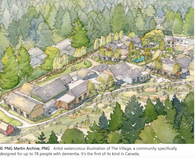 Canada's first 'dementia village' is set to open its doors in Langley, B.C. next year. Click here for more information.
