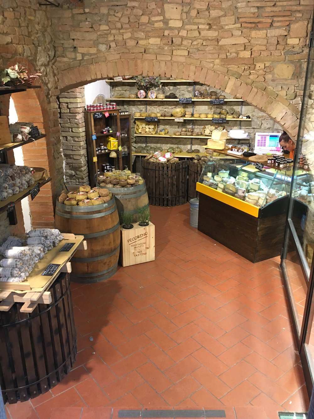 How cool is this cheese shop?