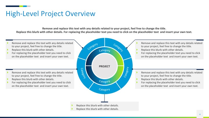 project status slides template  2018   u2014 in powerpoint