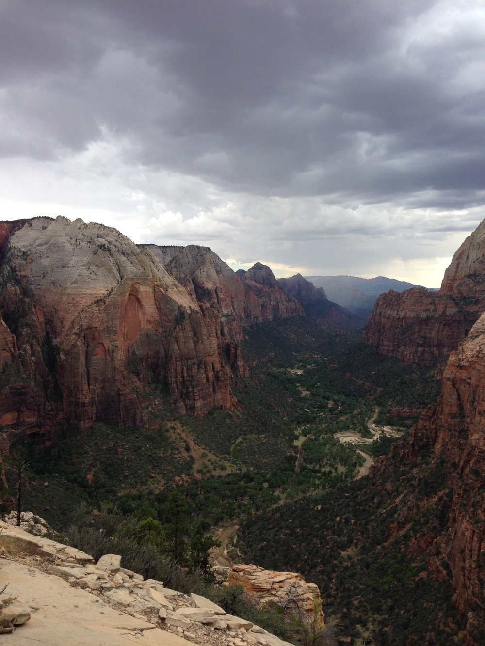 Top of Angels Landing