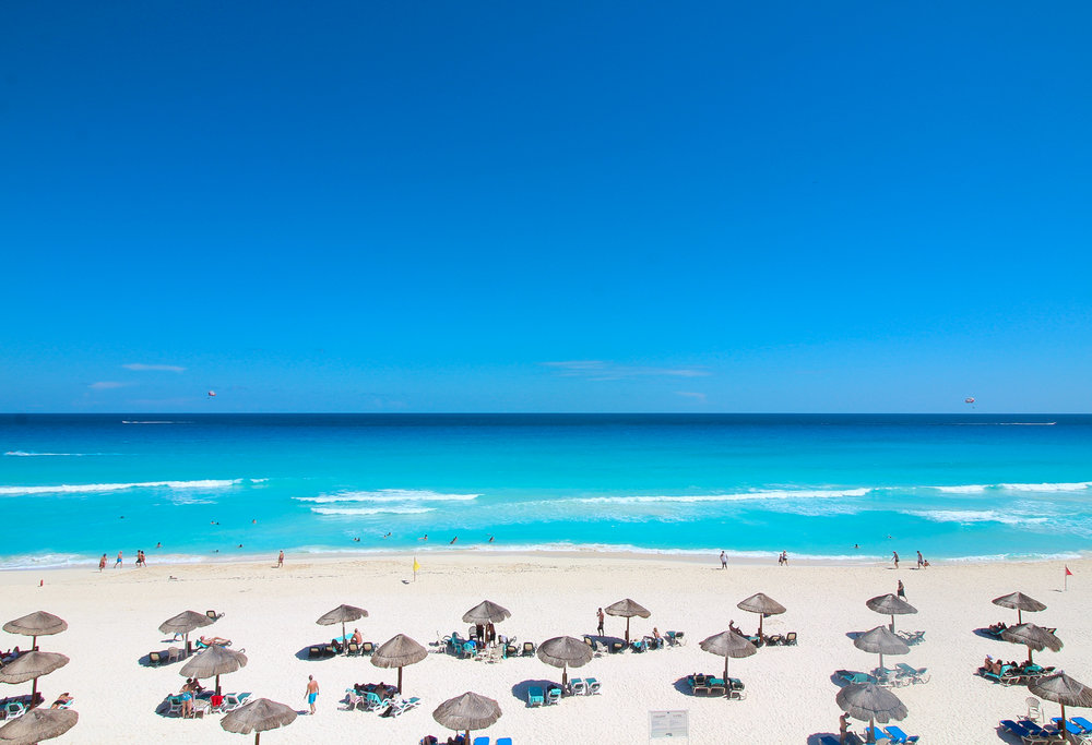 Cancun Beach 2016