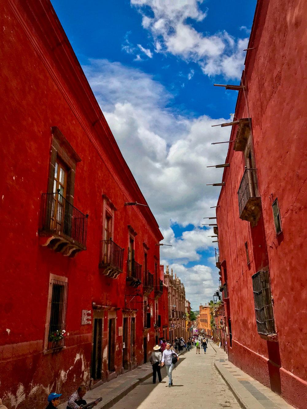 The streets of San Miguel De Allende, Guanajuato, Mexico
