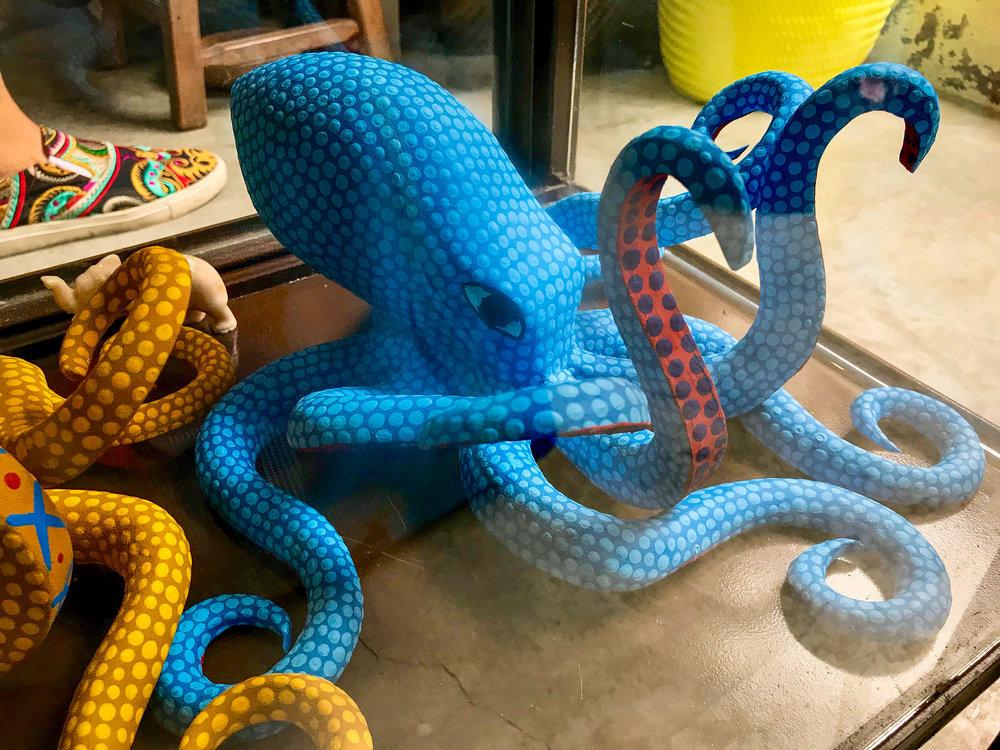 Octopus Alebrije