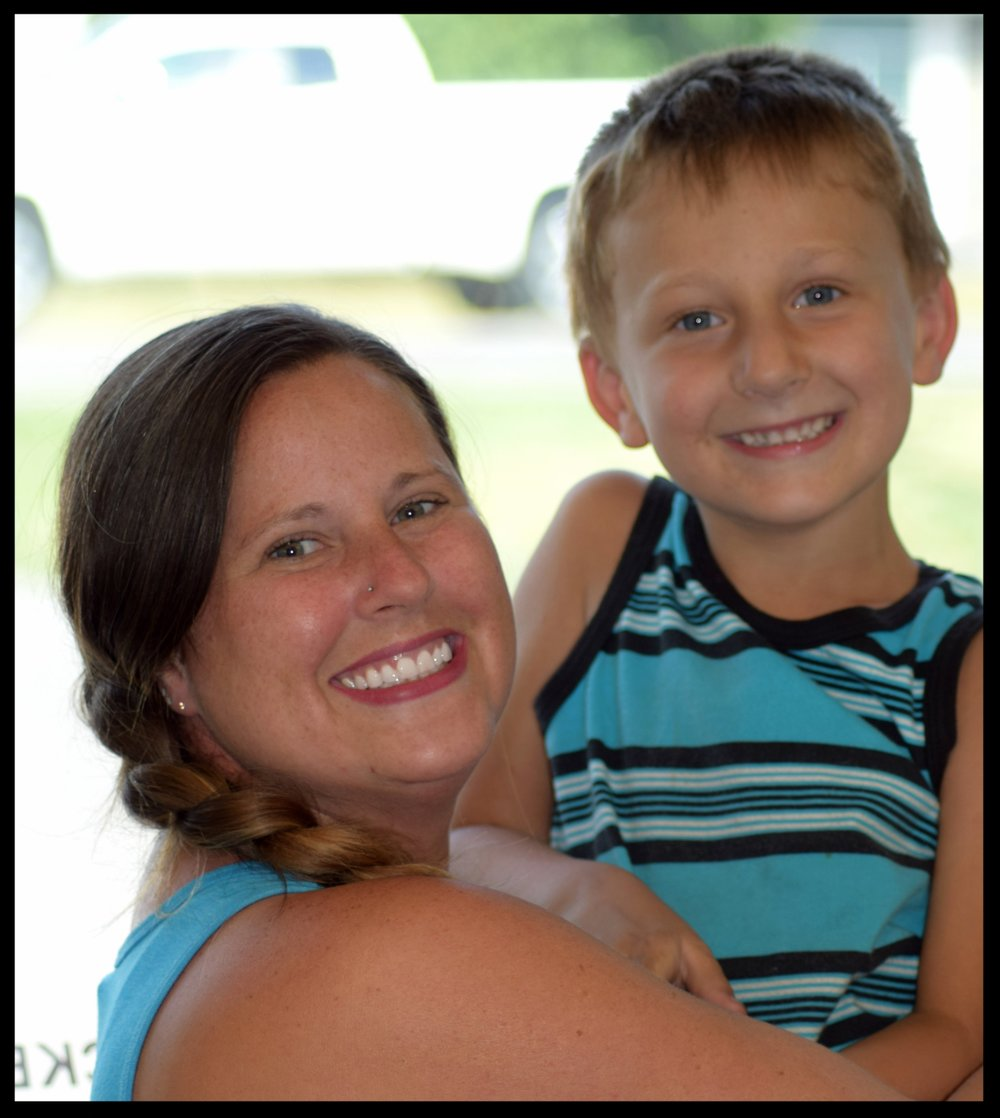 Her son recently celebrated his fifth birthday and loves hearing about all the dogs she meets at NBAI