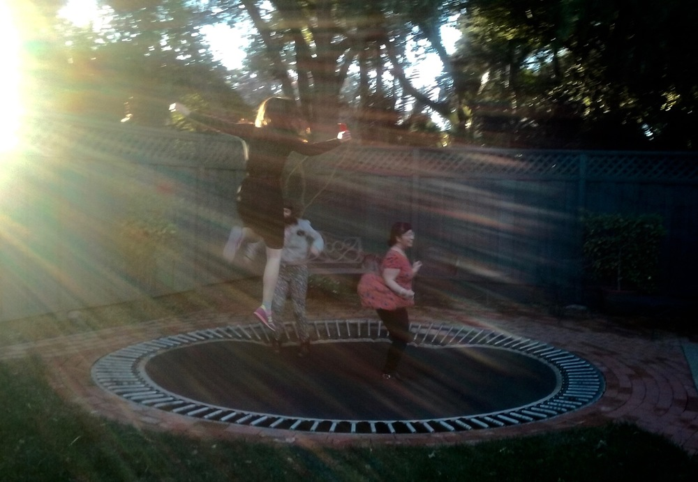 Class Break trampoline time