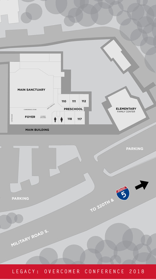 Campus Map Overcomer Covenant Church