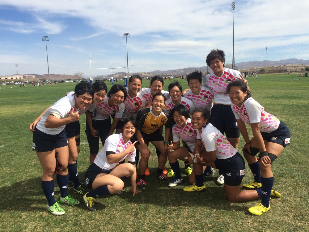Japan came to the States for a visit and to test themselves at Vegas 7s in the Olympic build-up