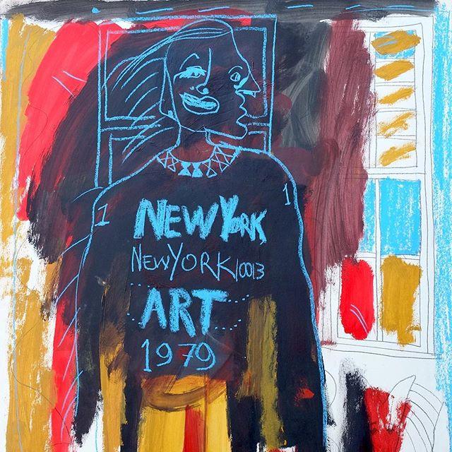 """Untitled"", 1979 #newyorknewyork #10013 #art #FJB"