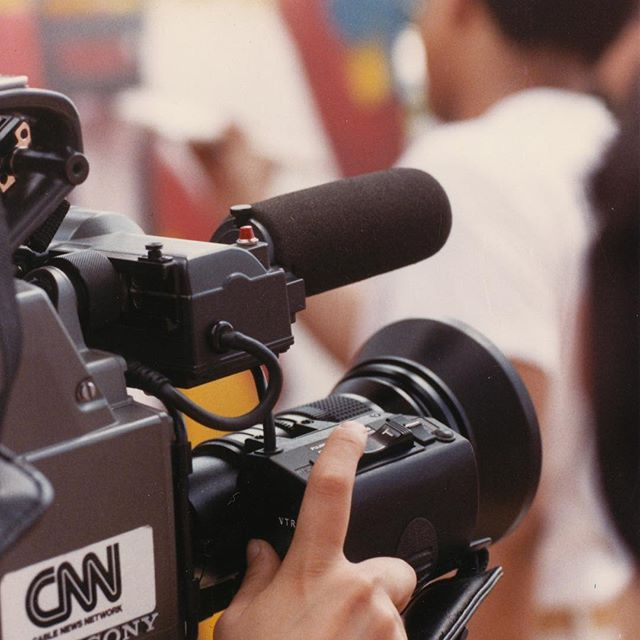 CNN Coverage. #Beijing #1988 #FJB