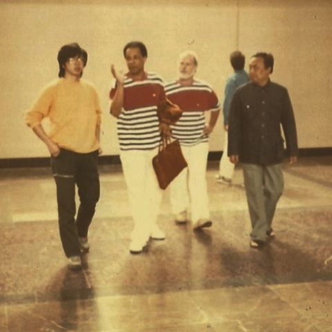 Planning the Exhibition. Beijing: 1988. #memories #beijing #1988 #FJB