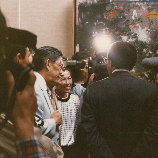In the Spotlight. #Beijing #1988 #FJB