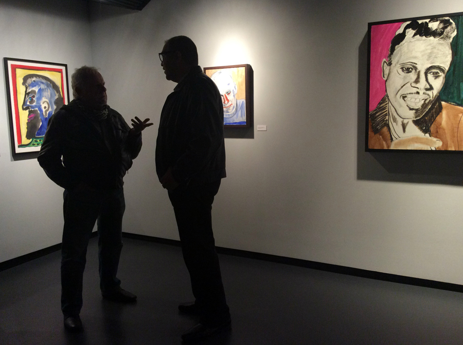 Exhibit opening, Arthur Roger Gallery, New Orleans, 2015