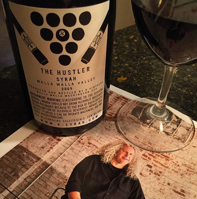 #kvintners #thehustlersyrah #2009syrah #wallawallavalley  A small production of 100% Syrah from the oldest Syrah vineyard in Walla Walla. Produced only three times in the last 10 years. Plainly put this is a stunning wine, not as opaque, yet twice as complex as the 'Phil's Vineyard' cuvée- more oily in texture, it has better complexity and a superior length. 35 months in barrel has produced a wine of great complexity, a trait that runs exciting throughout, from start to finish. It's a very full-bodied wine,very masculine, spicy with an amazing stretchy broad mid palate and a slightly oily texture that I personally find very appealing. Dense and concentrated in the mouth the wine exudes juicy powerful rich, ripe flavours of blackberries, black cherries, meat, minerals and liquorice. More broad than vertical in style, it's an expansive wine showcasing intense black liquorice and a lengthy spicy, purple fruit finish. 15.5% abv. Drink now up to five. Superb. #wine #kvintners #charlessmithwines #redwine #syrah #2009redwine #washingtonwine #wallawalla #winelover #winestagram #wineblogger #redwinelover #winebottle #wineaddict #wallawallawashington #cheers 🍷