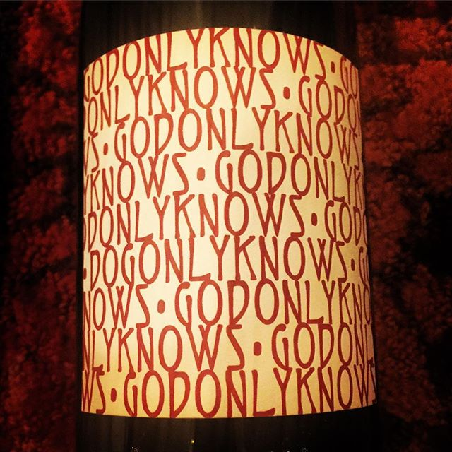 @cayusevineyards #onlygodknows #grenache #2013redwine  Another great release from Cayuse.This example was from a hot vintage but nonetheless is a superb Grenache showcasing the typical 'sauvage' character of Cayuse on the nose ( bloody meat, sweat, game) plus a noted sweet raspberry sacher-tort mineral laden core of black cherry fruits on the palate. It's full-bodied with sparky acidity, tight tannins, warm mineral laced Ganache flavours, scorched earth, Unami, black spicy cherries, neutral oak, Xmas spices...it's broad and wide in the mouth. Good depth of sweet and sour Chinese flavours, black ripe mineral fruits, sinuey and complex with an enormous chocolate, grand mariner, spice laden finish that lasts over a minute. Drink now but will last 10 in bottle. Like 'suckin the ground.' 13.6 alcohol. Superb wine. #wine #redwine #washingtonwine #wallawalla #columbiavalley #winelover #winetasting #terroir #cheers 🍷