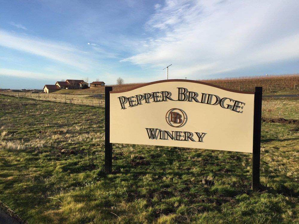 Pepper Bridge Winery Walla Walla