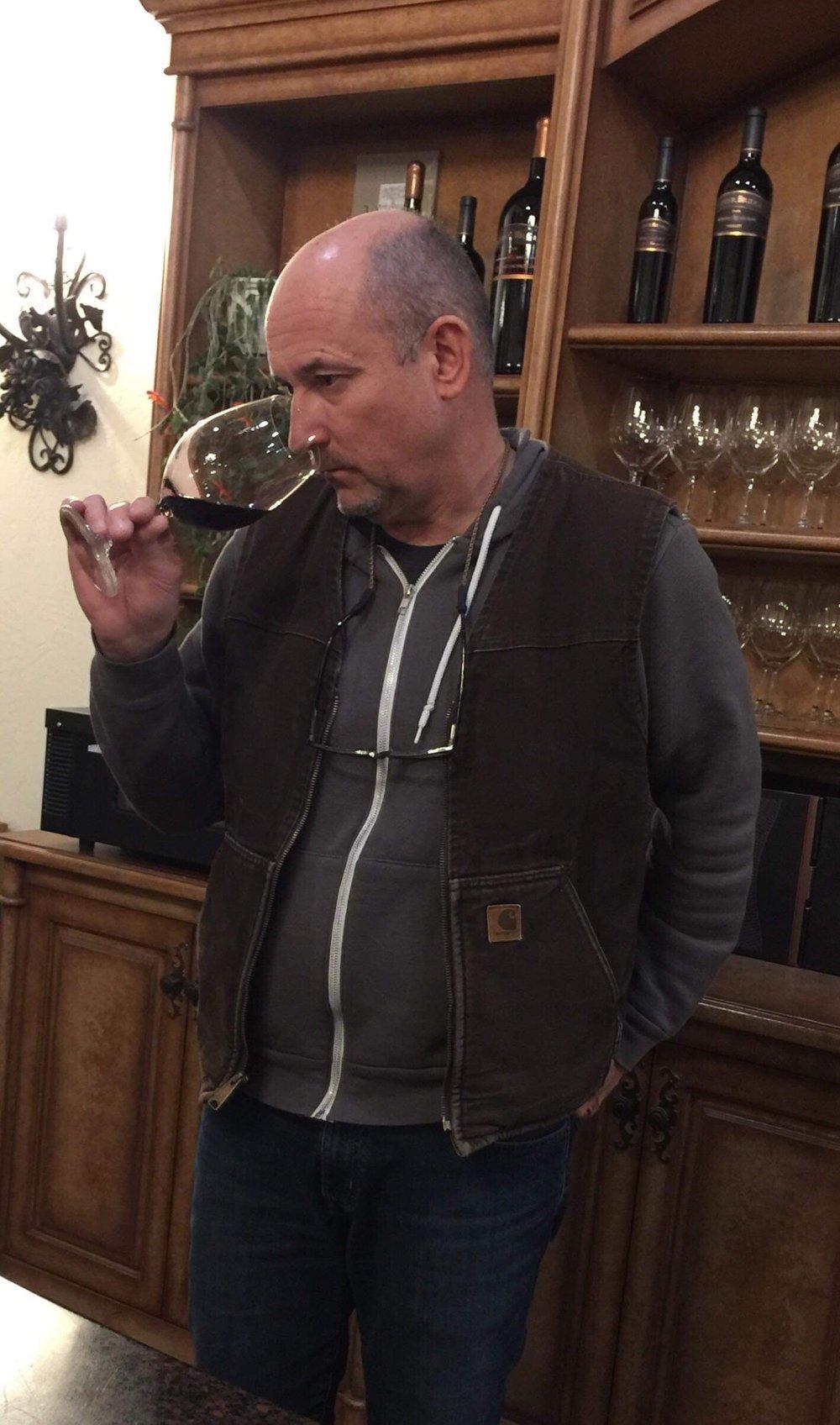 Winemaker Jean-François Pellet
