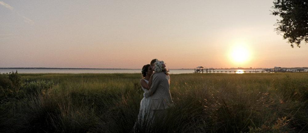 KRIS & LAUREN'S CHARLESTON WATEFRONT WEDDING -