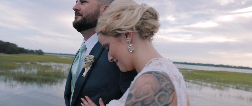 Krystal & Kevin's simple, Intimate CHarleston Wedding -