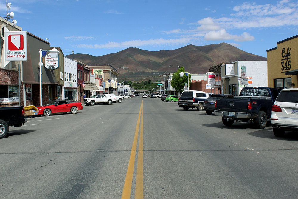 Downtown Winnemucca, NV