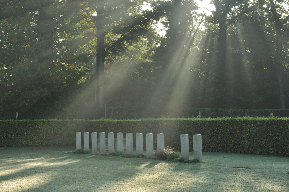 Military Cemetery in Dieppe France