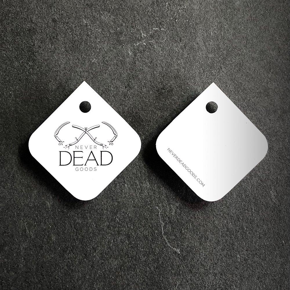 hang tag front and back
