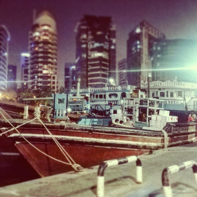 #dubai #port #old #love #beautiful  #arabic #night #life