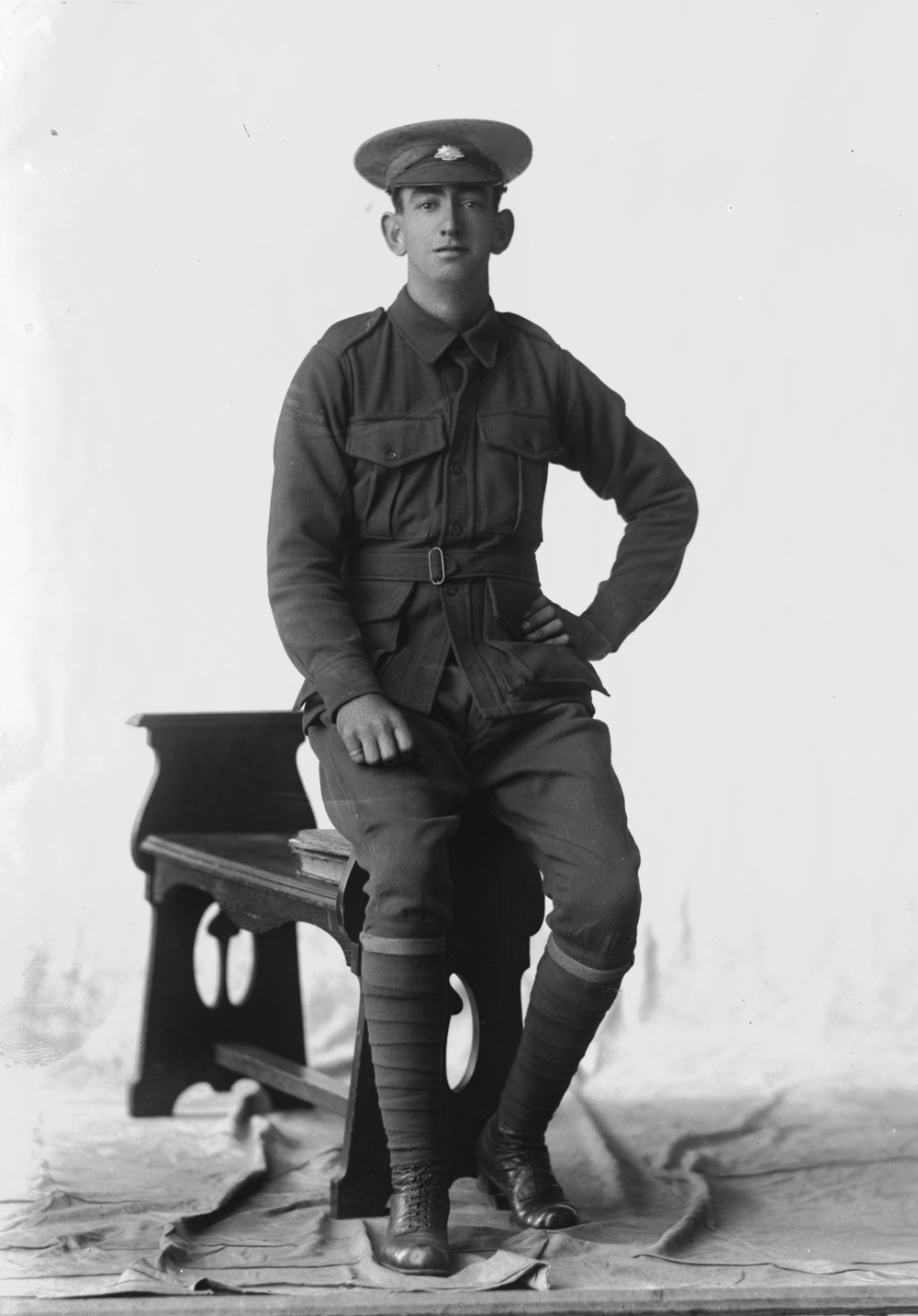 Photographed at the Dease Studio, 117 Barrack Street Perth WA Image courtesy of the State Library of Western Australia: 108486PD