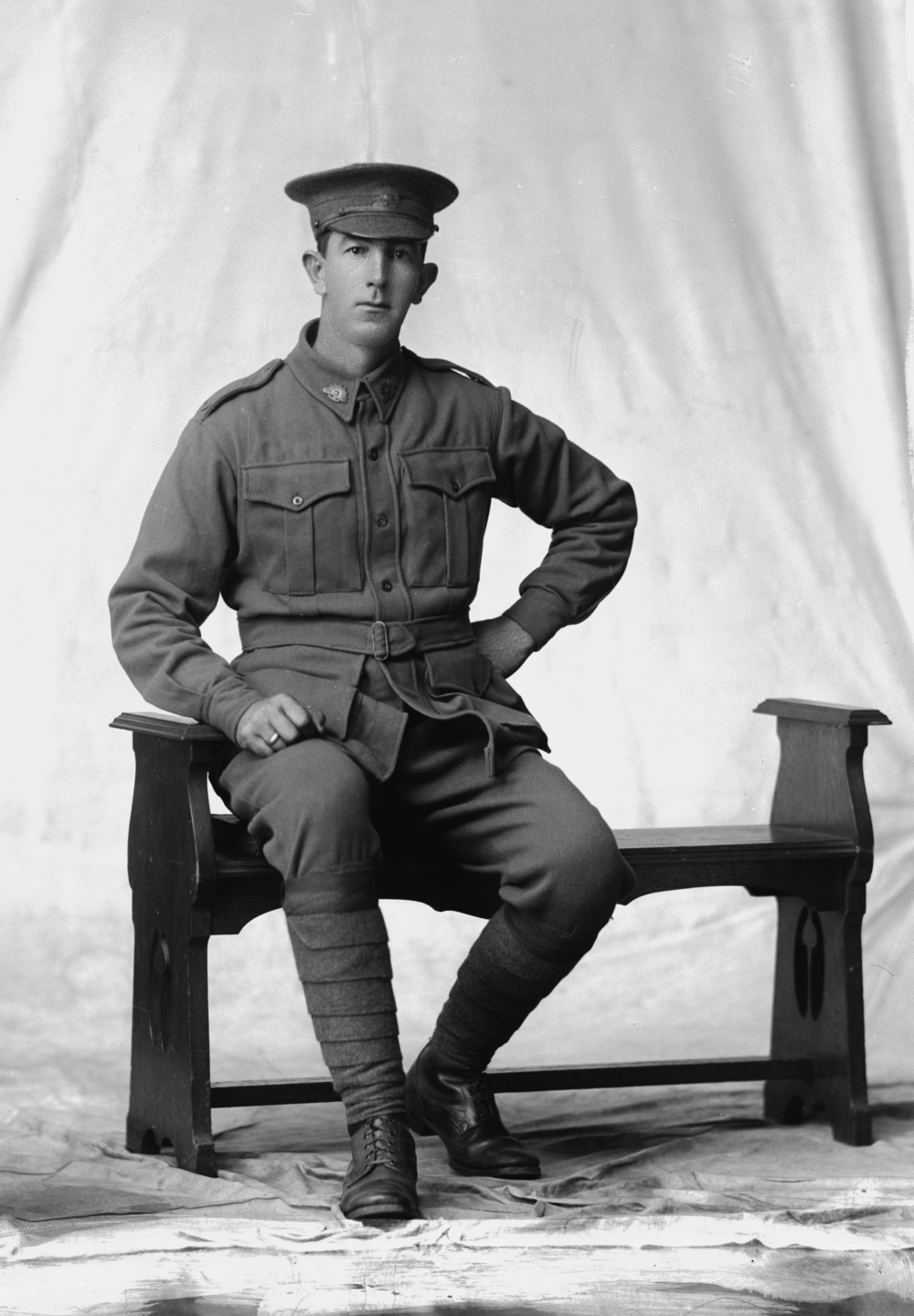 Photographed at the Dease Studio, 117 Barrack Street Perth WA Image courtesy of the State Library of Western Australia: 108336PD