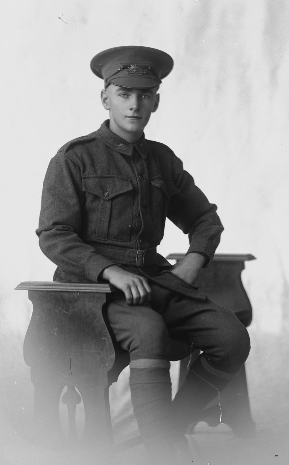 Private Bruce Gordon Wallace Allan.