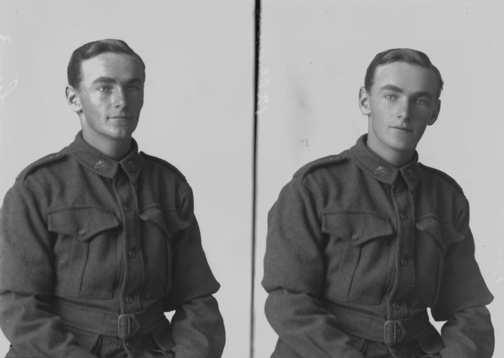 Private Bruce Gordon Wallace Allen