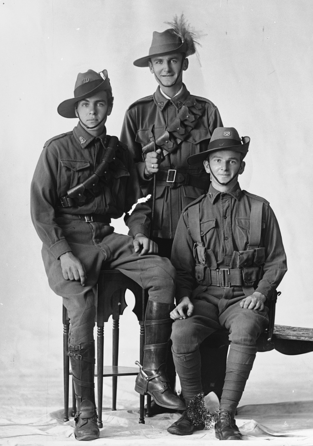 Photographed at the Dease Studio, 117 Barrack Street Perth WA Image courtesy of the State Library of Western Australia: 108192PD