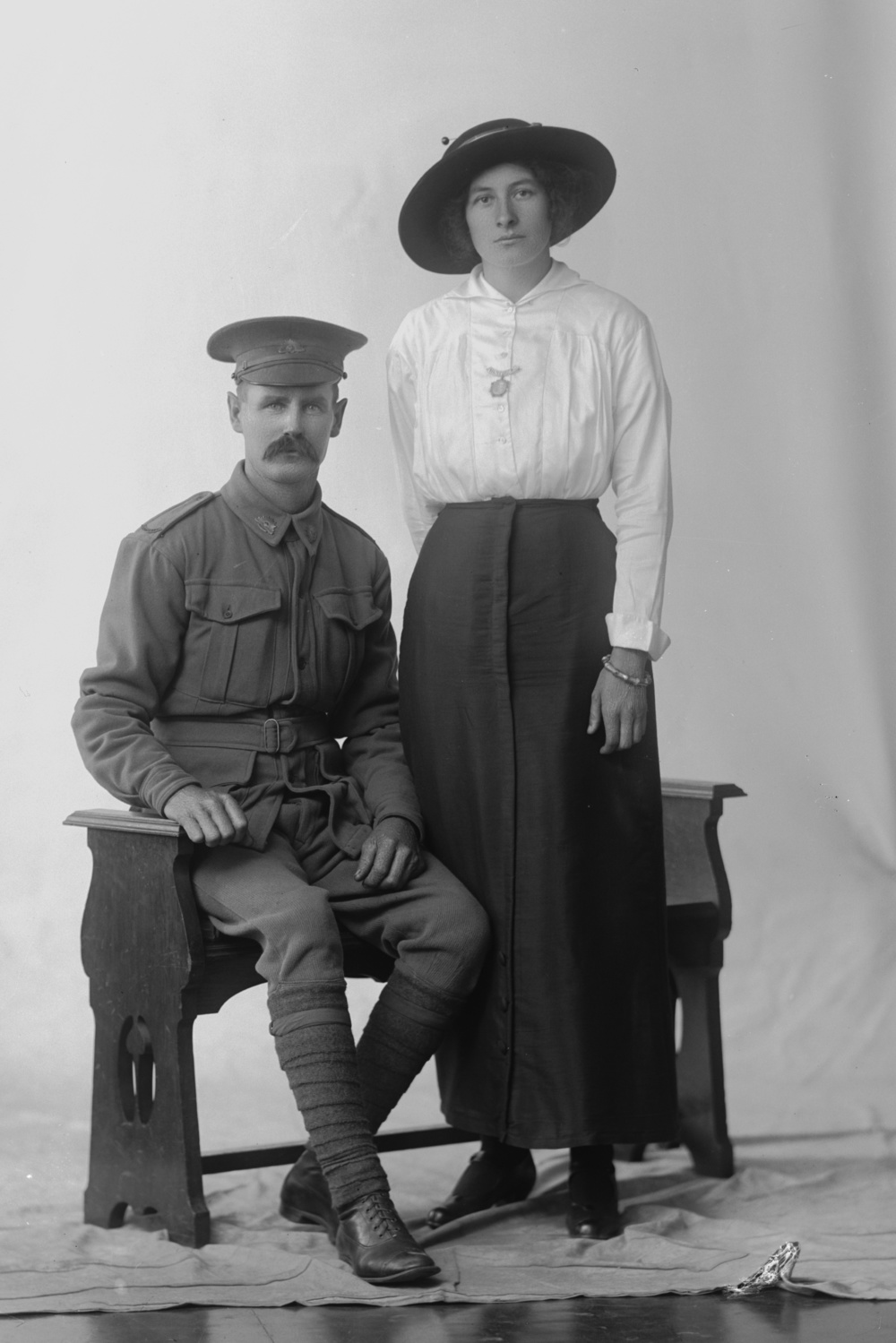 Photographed at the Dease Studio, 117 Barrack Street Perth WA Image courtesy of the State Library of Western Australia:  108704PD